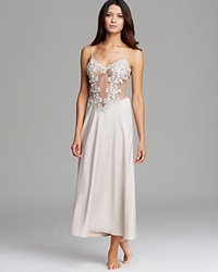 Flora Nikrooz Showstopper Long Nightgown Champagne