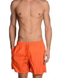 Roda Swimwear Swimming Trunks Men Orange