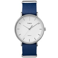 Timex Weekender Fairfield 41Mm Watch Blue