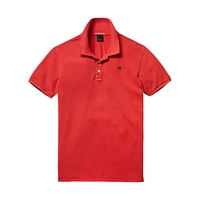 Scotch And Soda Core Polo Shirt Red