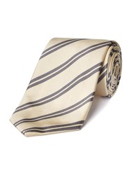 Chester Barrie Silk Tie Grey
