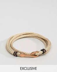 Seven London Hook Bracelet In Cream Exclusive To Asos Cream