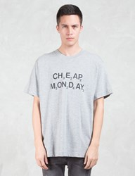 Cheap Monday Chemical Logo T Shirt
