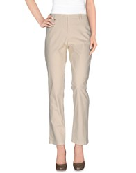 Etiqueta Negra Trousers Casual Trousers Women Beige