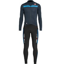 Castelli Sanremo 2 Stretch Jersey Thermosuit Blue