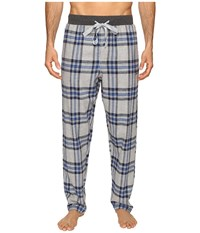 Kenneth Cole Reaction Open Bottom Pants Light Grey Heather Men's Pajama Gray