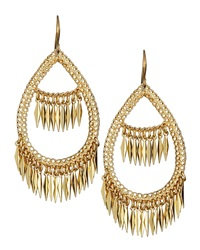 Amrita Singh Spike Fringe Filigree Earrings