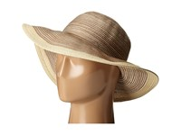 San Diego Hat Company Mxm1016 Sun Brim Hat With Self Tie And Contrast Edge Beige Caps
