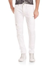 Diesel Black Gold Pik Lok Cargo Pants White