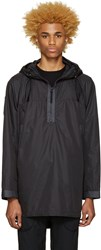 Nanamica Black Hooded Parka