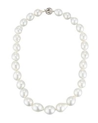 Belpearl White South Sea Pearl Necklace