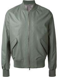 Tim Coppens Zipped Bomber Jacket Green