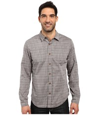 Prana Bergamont Slim Shirt Dark Khaki Men's Clothing