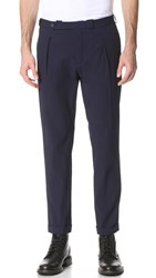 Carven Pleated Trousers Indigo