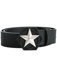 Philipp Plein 'Precious' Belt Black