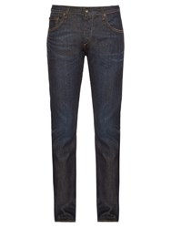 Rag And Bone Slim Fit Jeans Blue
