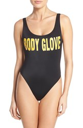 Women's Body Glove '1989 The Look' One Piece Swimsuit Black