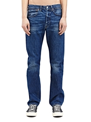 New Season Levi's Vintage Mens Straight Fit 1947 501 Jacob Raw Washed Selvedge Denim Jeans