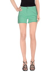 Eleven Paris Denim Denim Shorts Women Light Green
