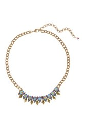 Sorrelli Crystal And Triangle Frontal Necklace Multi