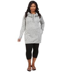 Soybu Plus Size Simone Hoodie Grey Heather Women's Sweatshirt Gray