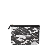 Pierre Hardy Camo And Cube Pouch L