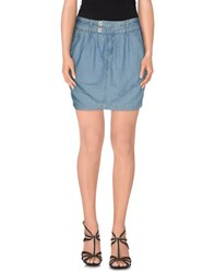 Take Two Denim Denim Skirts Women