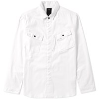 Mhi Maharishi Travel Shirt Jacket White