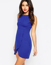 Daisy Street Shift Dress With Embellished Detail Blue