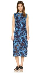 House Of Holland Lace Tank Dress Navy