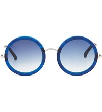 The Row Imperial Blue Acetate Sunglasses