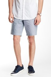Ben Sherman Geo Print Short Blue