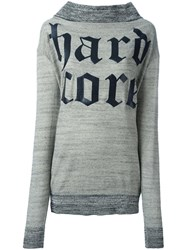 Vivienne Westwood Anglomania Hardcore Logo Sweatshirt Nude And Neutrals
