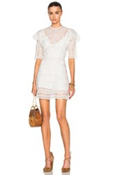 Carisa Rene By Nightcap Antique Prairie Dress In White