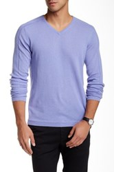 Autumn Cashmere Ribbed Sleeve Cashmere Sweater Purple