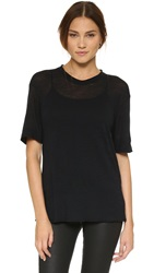 Superfine Patti Tee Black