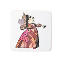 Mrs Moore's Vintage Store Red Queen Coaster