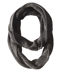 Smartwool Infinity Rib Scarf Charcoal Heather Scarves Gray