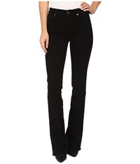 7 For All Mankind Kimmie Bootcut In Washed Overdyed Black Washed Overdyed Black Women's Jeans