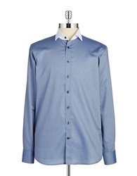 Pure Cotton Sportshirt Blue