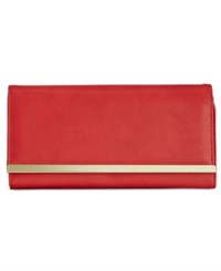Styleandco. Style And Co. Clutch Wallet Poppy