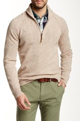 J.Crew Factory Donegal Shawl Collar Half Zip Pullover Multi