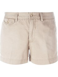 Polo Ralph Lauren Classic Chino Shorts Nude And Neutrals
