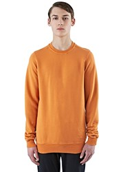Rick Owens Jumbo Crew Neck Sweater Orange
