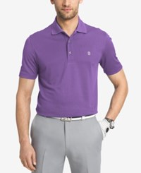 Izod Men's Golf Polo Mlbry Prpl
