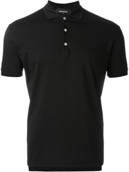 Dsquared2 Classic Polo Shirt Black