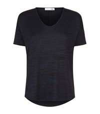 Rag And Bone Melrose Scoop Neck T Shirt Female Black