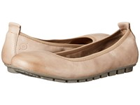 Born Tami Marmotta Full Grain Leather Women's Slip On Shoes Tan