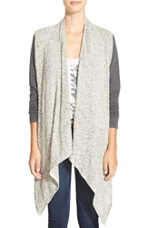 Rip Curl 'Temptation' Cardigan Heather Grey
