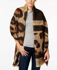 Inc International Concepts Oversized Leopard Print Wrap Only At Macy's Natural